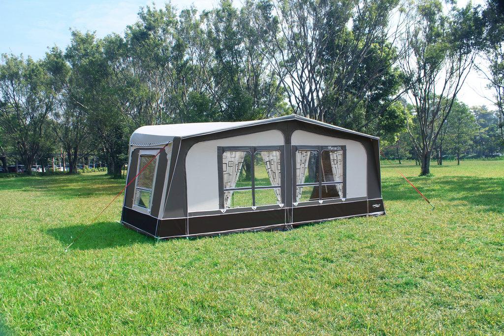 Eleganza DL Seasonal Pitch Caravan Awning 4 windows